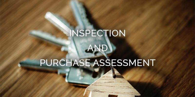 Inspection and purchase assessment